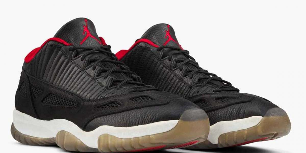 "New 2021 Air Jordan 11 Low IE ""Bred"" will be released on September 18th"