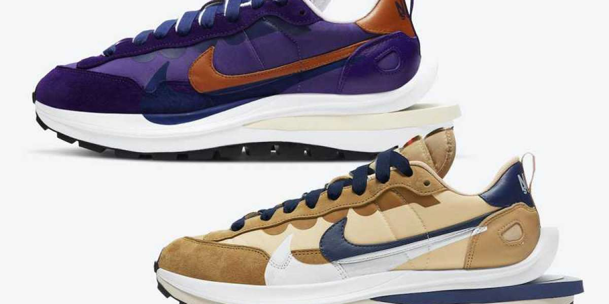 Most Popular Sacai x Nike VaporWaffle Collab Running Shoes